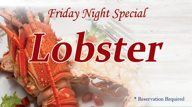 Friday Night Special - Lobster
