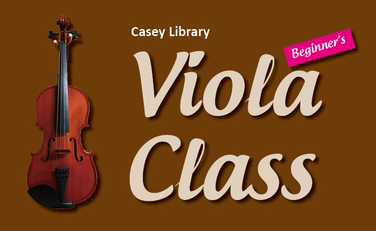 Casey Library Viola Class