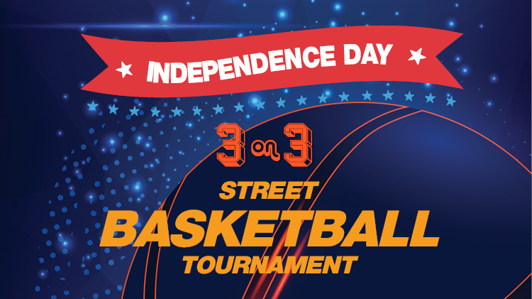Independence Day 3 on 3 Street Basketball Tournament