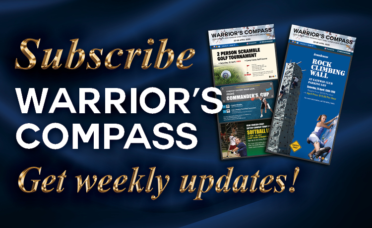 Casey Family and MWR Warrior's Compass Subscription