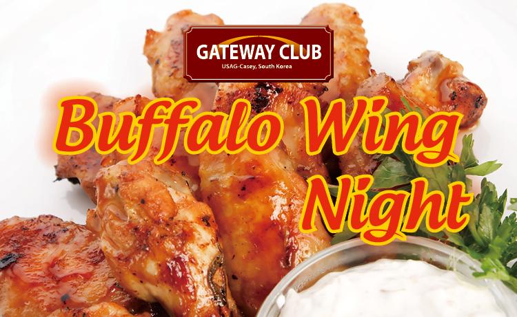 Buffalo Wing Night