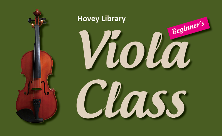 Hovey Library Viola Class