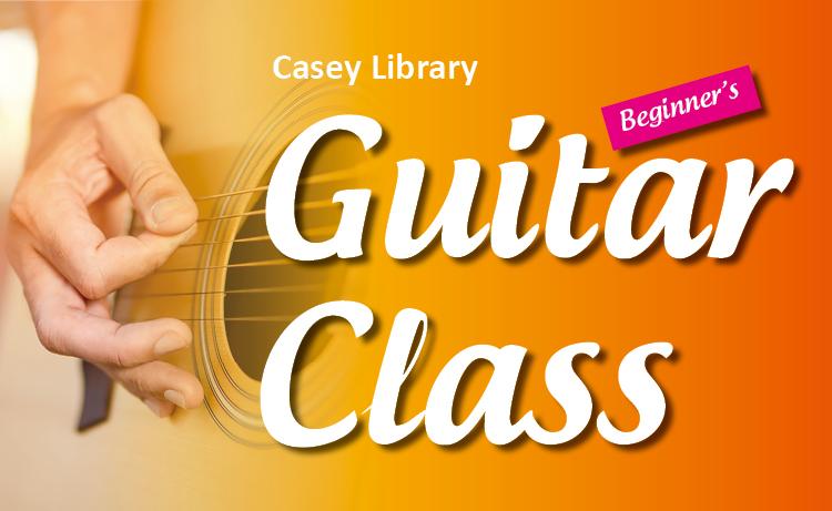 Casey Library Guitar Class